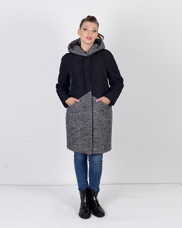 Куртка с твидом