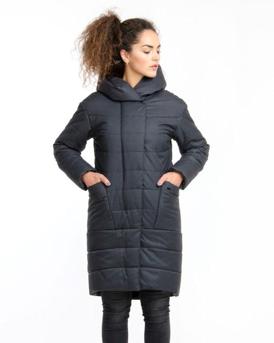 Куртка парка серый