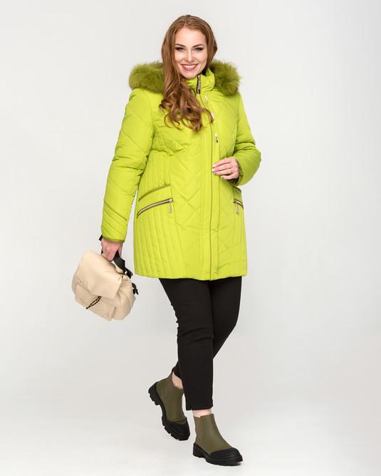 Куртка ботал короткая лимон