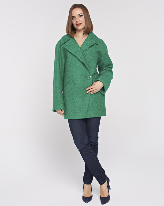 Пльто-Пиджак зеленое