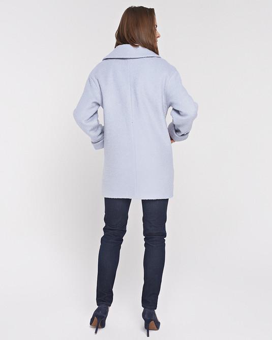 Пльто-Пиджак голубое