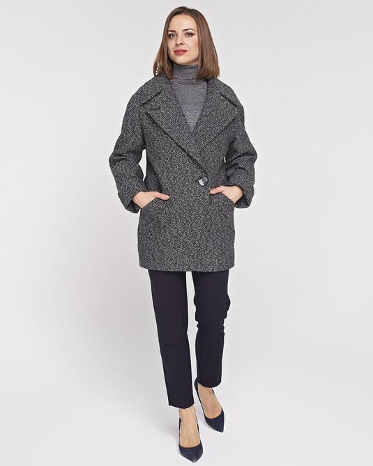 Пльто-Пиджак серое