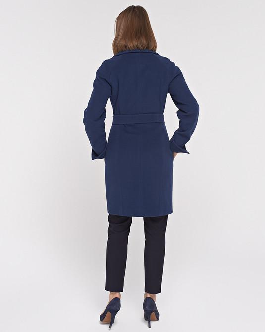 Пальто Лэди синее