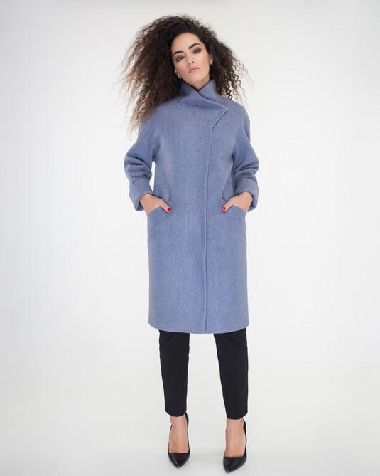 Пальто свобдный крой джинс