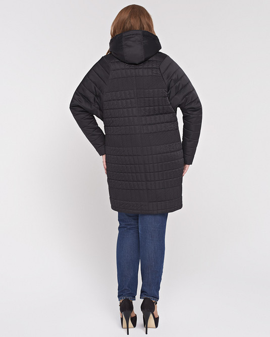 Куртка летучая-мышь черная