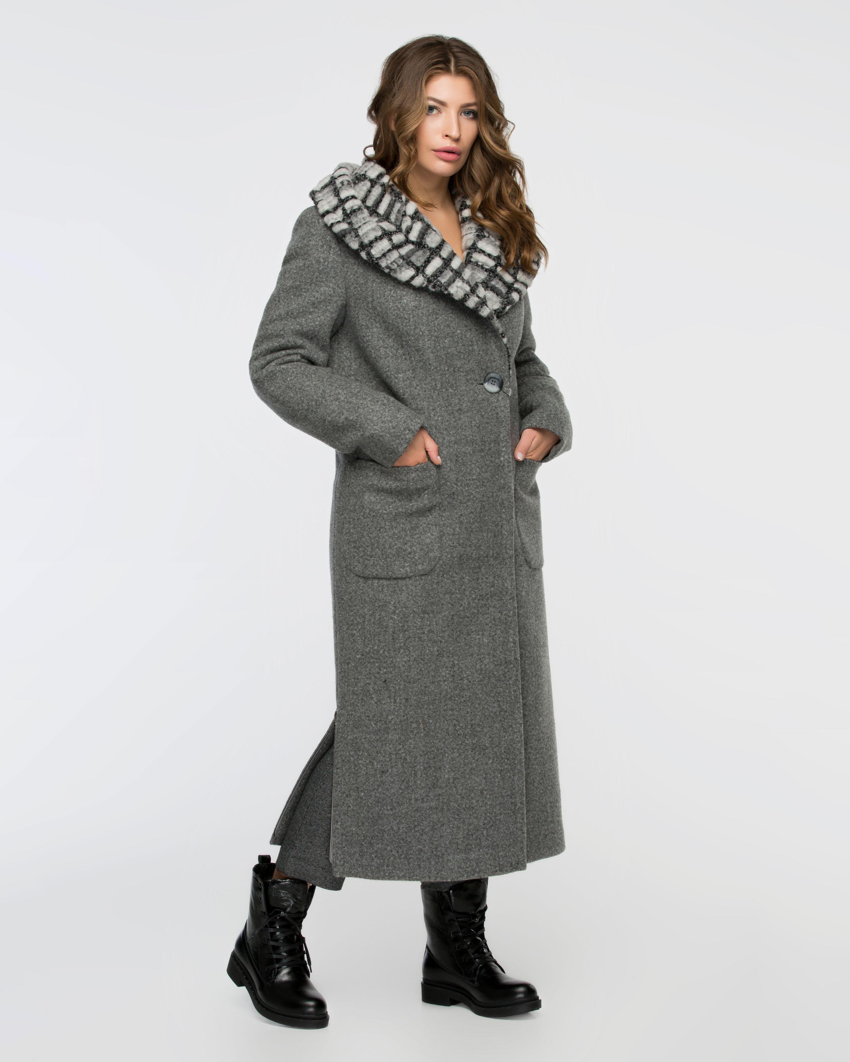 Пальто зимнее макси