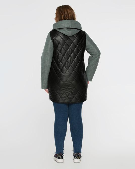 Куртка комбинированная полынь