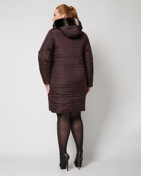 Куртка зимняя ботал марсала