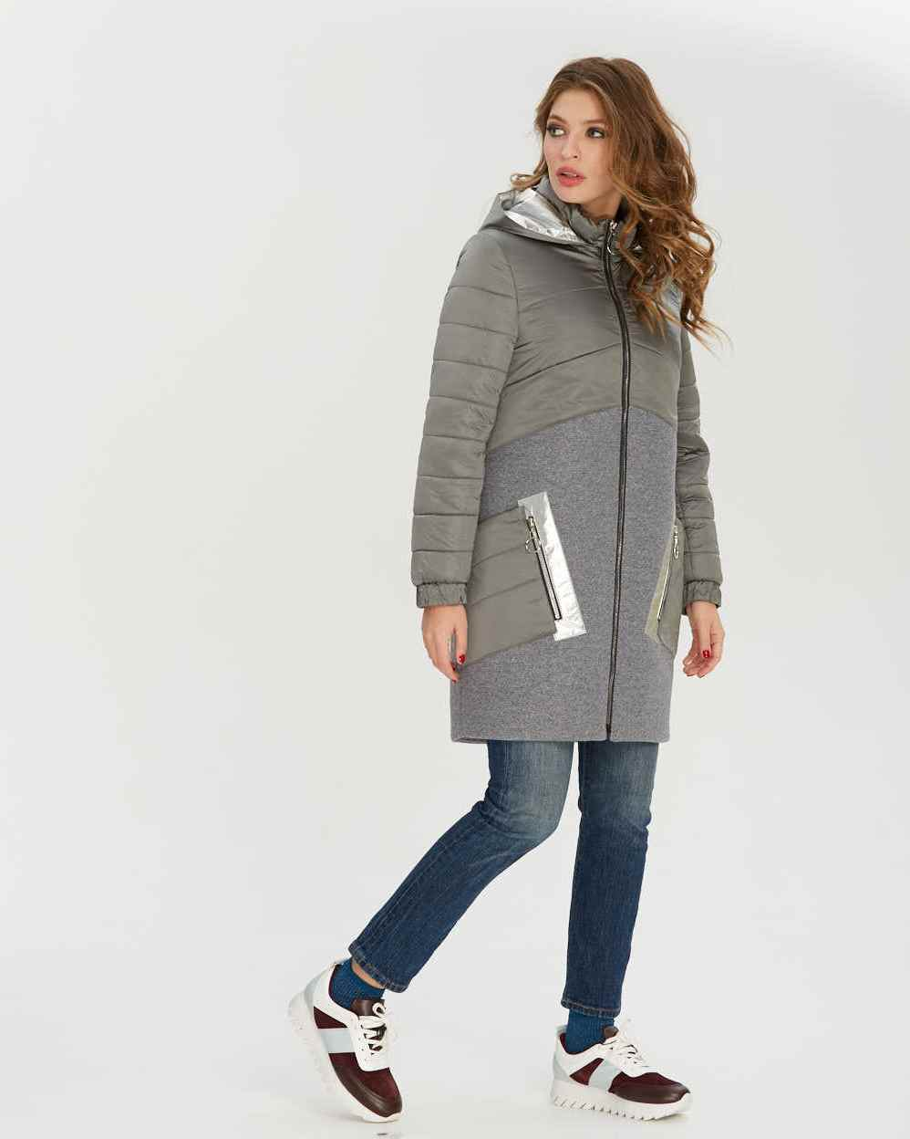 Куртка с кашемиром