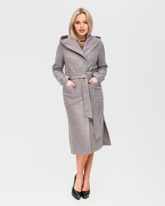Пальто без подкладки пудра