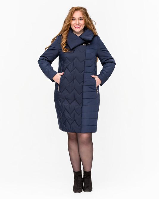 Женская куртка ботал темно-синий
