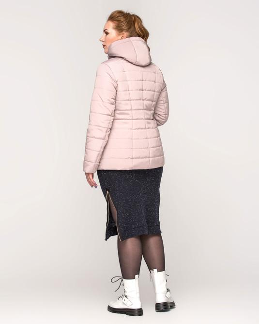 Куртка с капюшоном беж