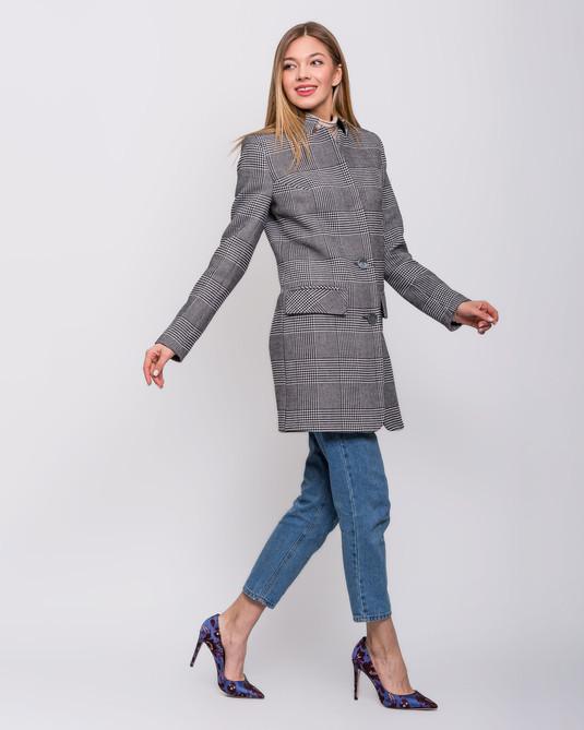 Пальто пиджак клетка
