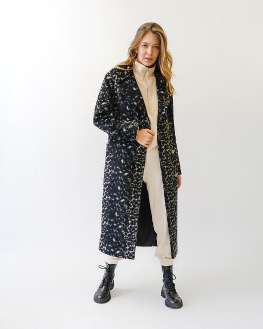 Пальто Барс черное