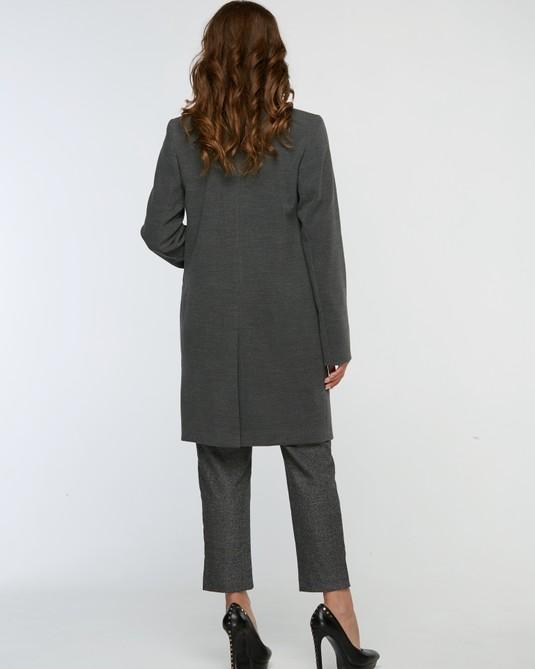 Пальто Честрефилд темно-серый