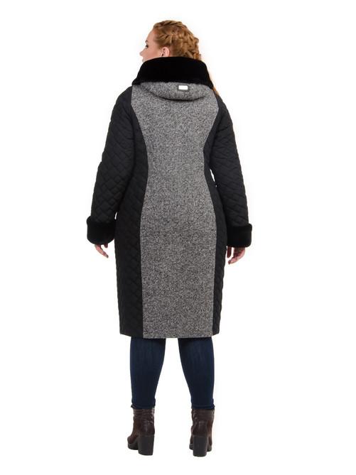 Куртка твидовая ботал черная