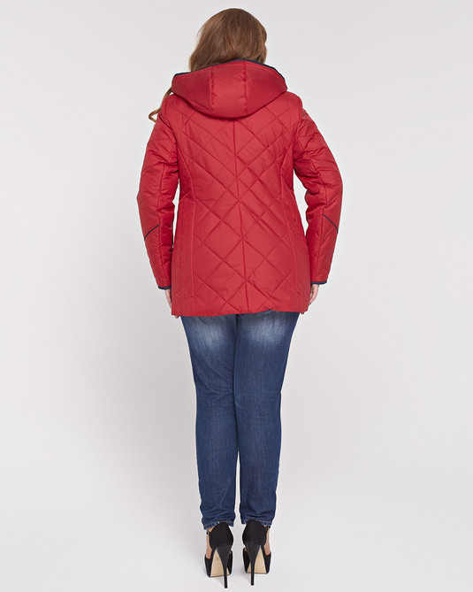 Куртка ботал красная
