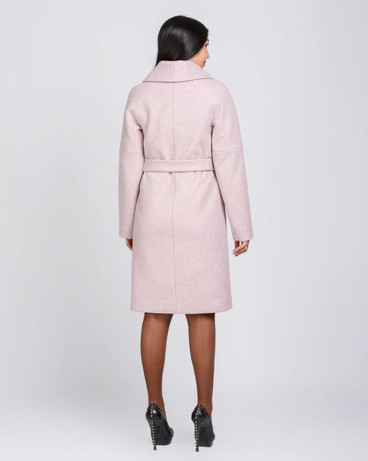 Пальто классика пудра