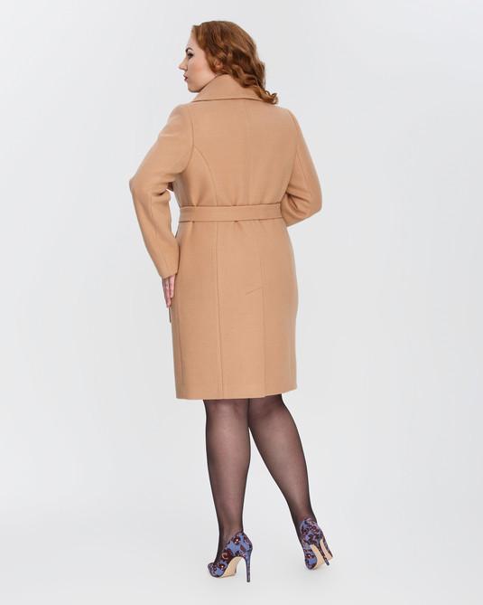 Пальто с шалевым воротником карамель Пальто с шалевым воротником карамель b2f8ba0284e5f