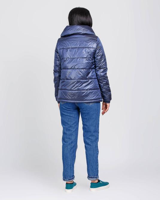 Куртка короткая аталс синяя