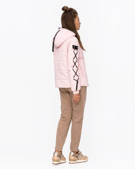 Куртка оверсайз розовая