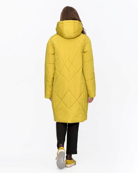 Куртка назапах Желтый