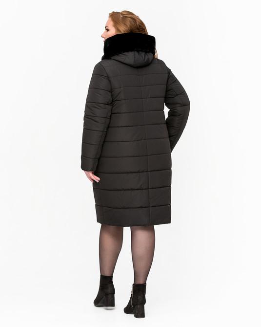 Кутка зимняя женская ботал черная