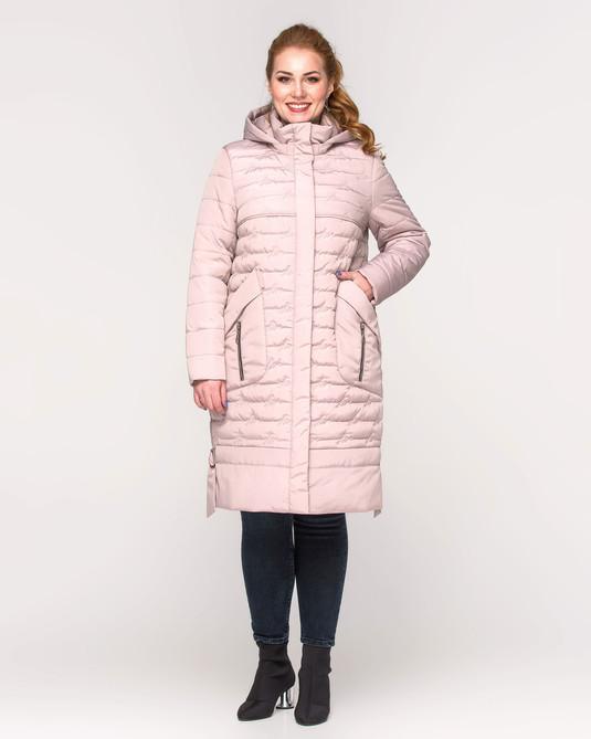 Куртка со сьемным капюшоном беж