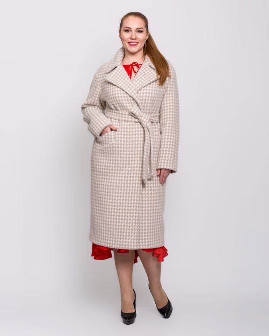 Пальто халат капучино