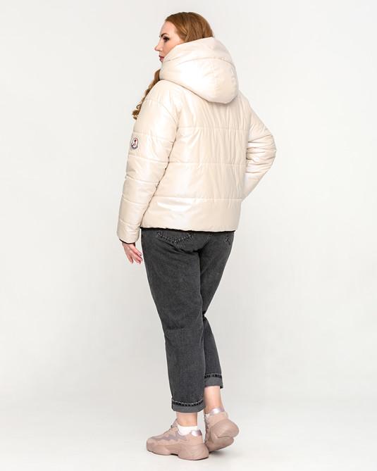 Куртка молодежная жемчужная