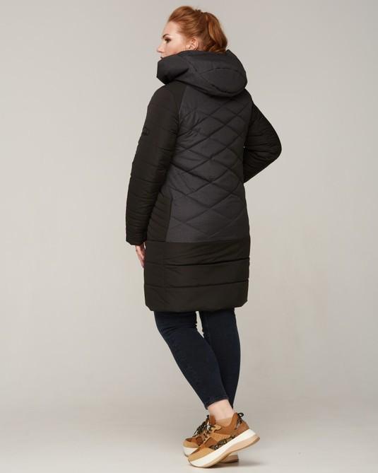 Куртка комбинированная ботал черный